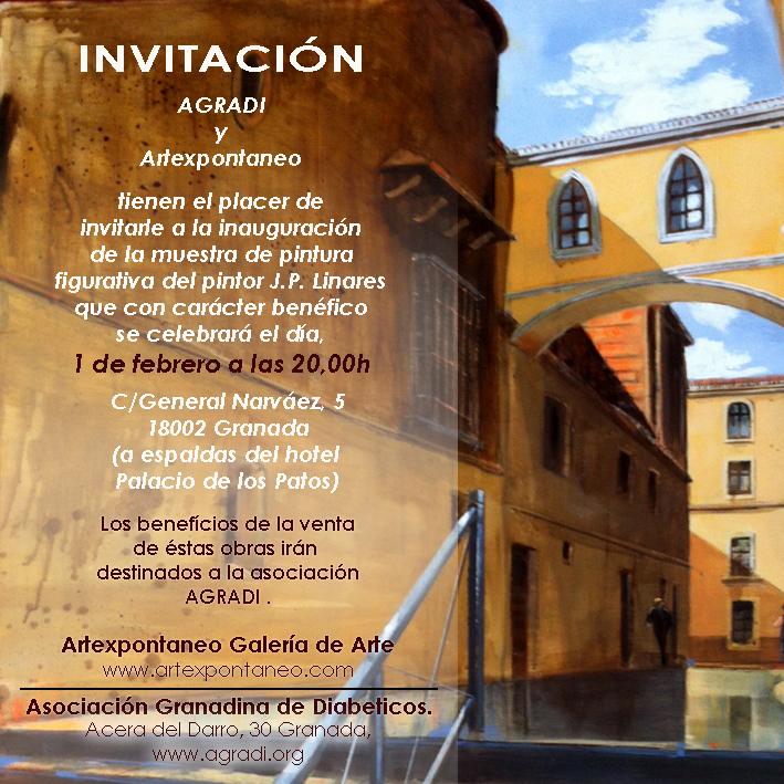 Exposicion Pintor JP Linares