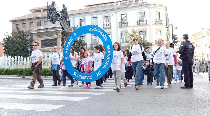 Día Mundial de la diabetes en Granada