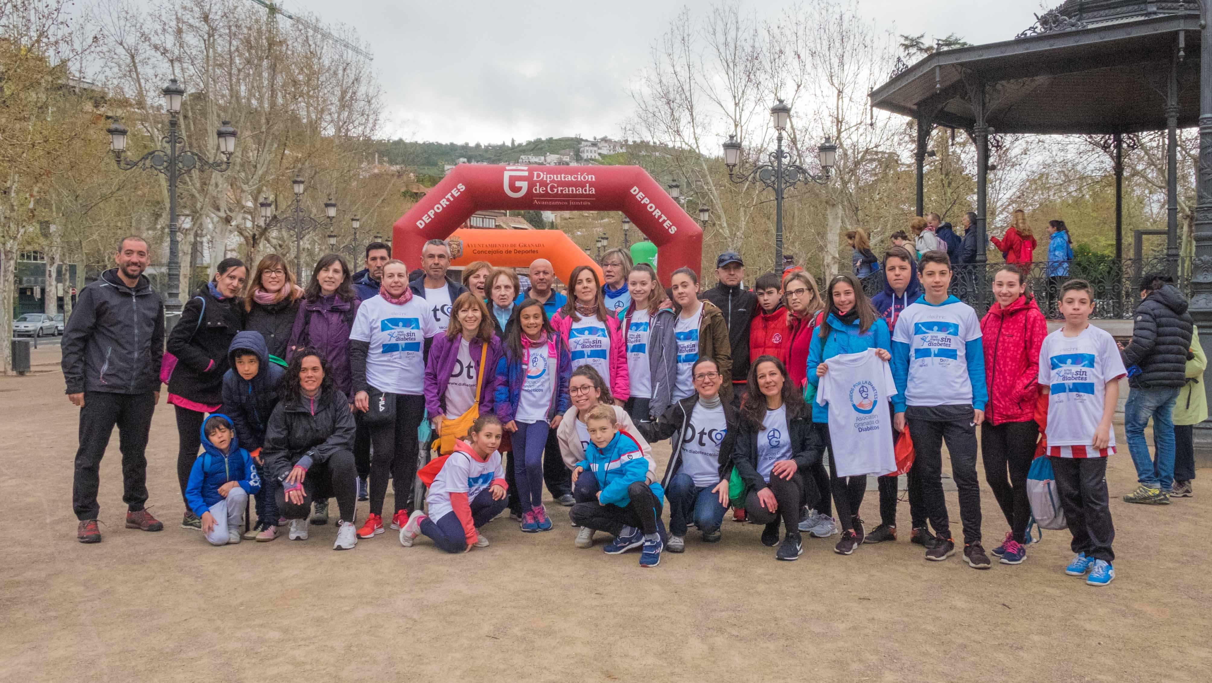 IV Caminata Saludable de Granada a favor de AGRADI y DiabetesCERO