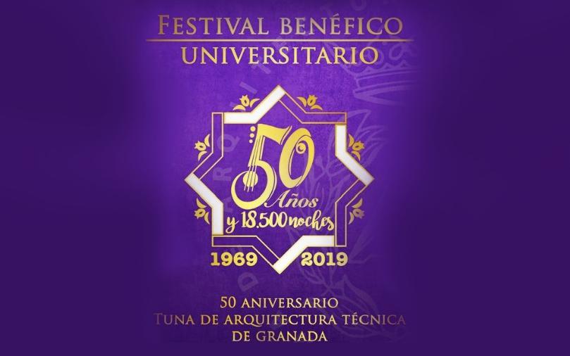 Festival Benéfico con motivo del 50 Aniversario de la Tuna de Arquitectura Técnica de la Universidad de Granada a favor de DiabetesCERO