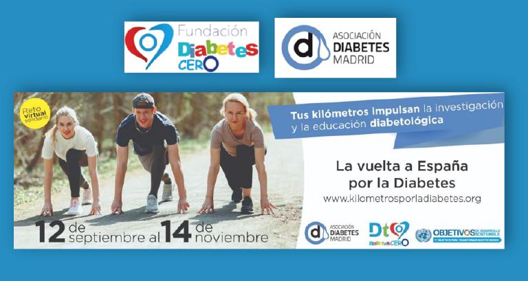 kilómetros por la Diabetes